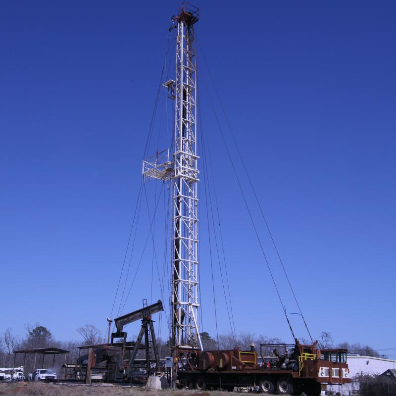 Oil and Gas Workover Rig